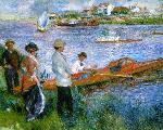 Oarsmen at Chatou - Pierre-Auguste Renoir