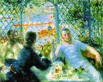 The Canoeists' Luncheon - Pierre-Auguste Renoir