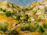Rocky Craigs at l'Estaque - Pierre-Auguste Renoir