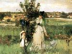 Berthe Morisot - Cache-cache (Hide-and-Seek)